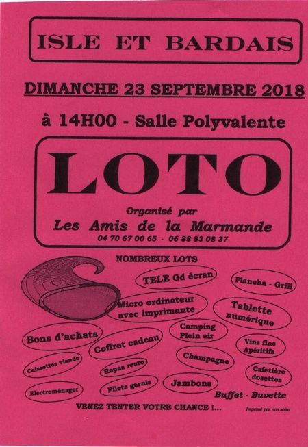 180923 loto isle bardais