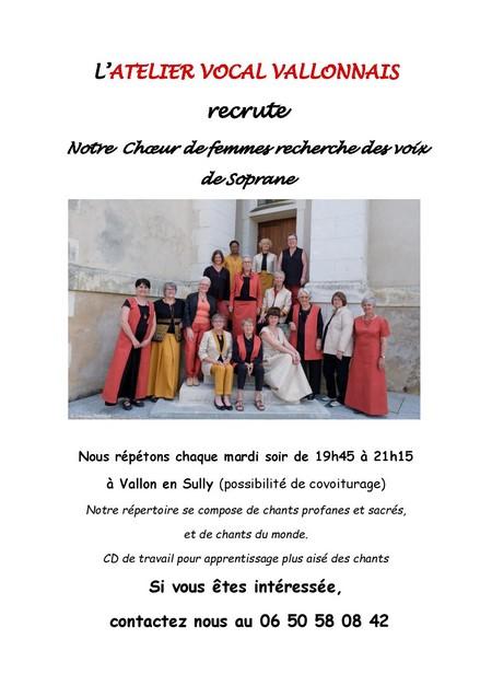 181218 recrutement sopranes sept 2018