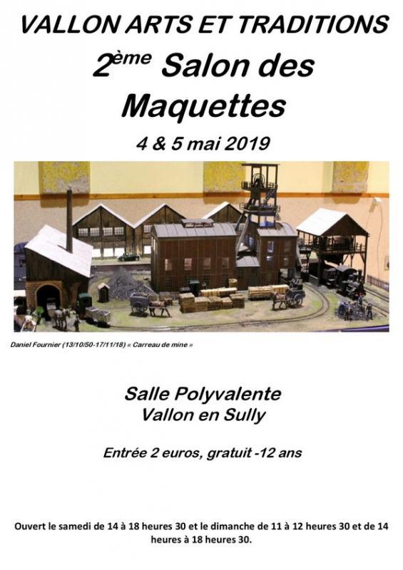 190504 affiche 2eme salon des maquettes