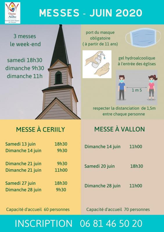 Messe juin 2020